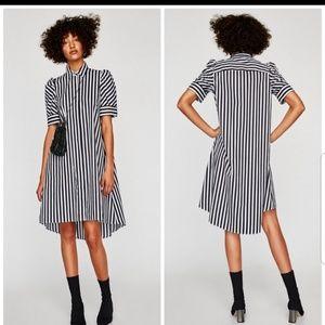 Zara tunic shirt dress